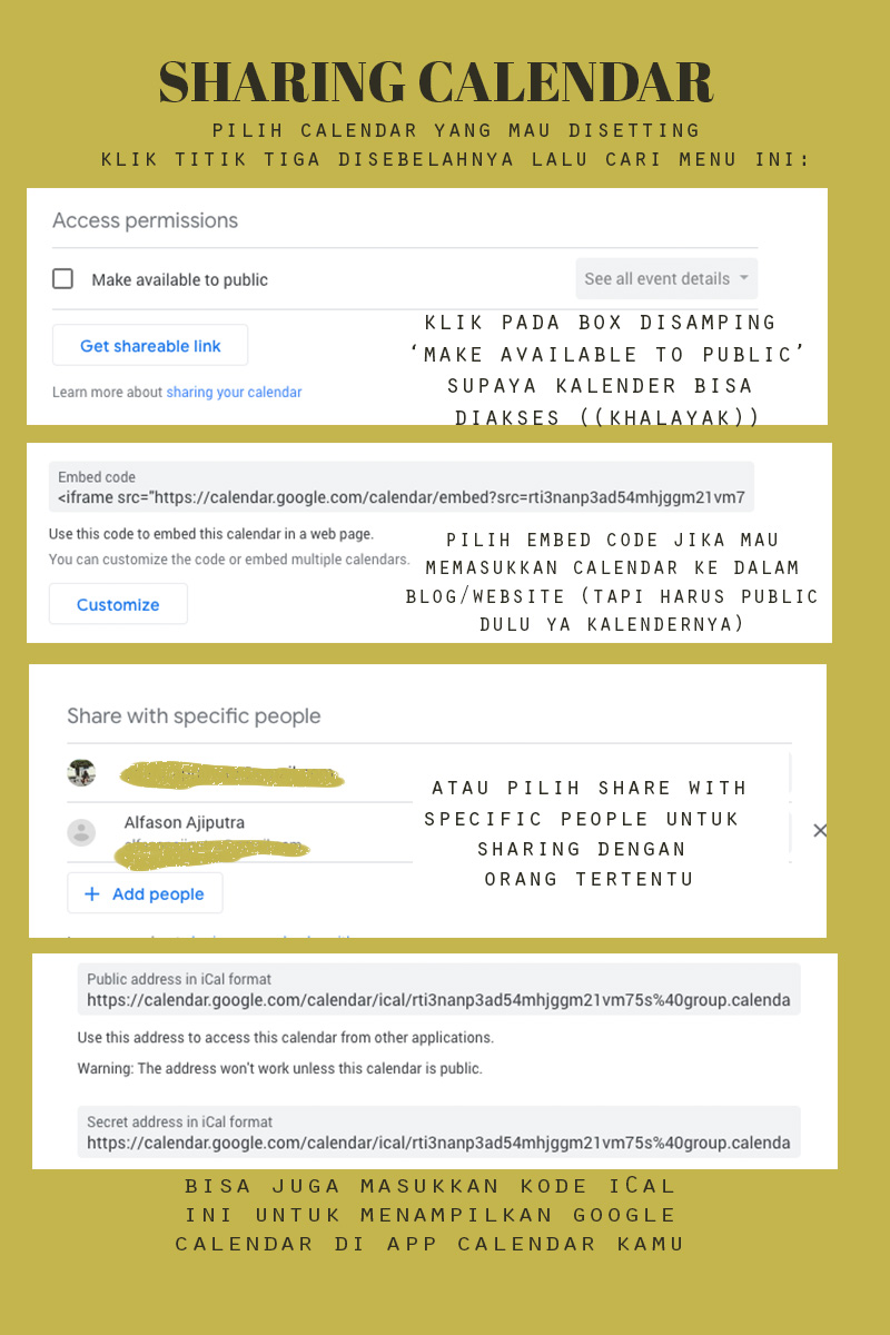 Tips Planning Mudah Menggunakan Google Calendar Duckofyork Indonesian Lifestyle Blogger