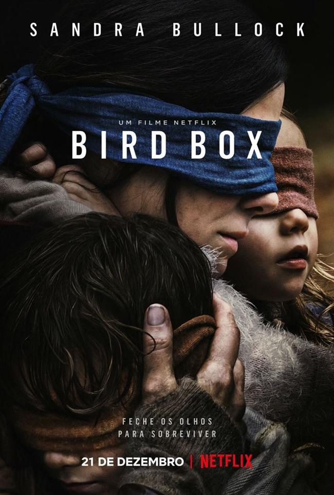 Resenha, filme, Bird Box, Caixa de Pássaros