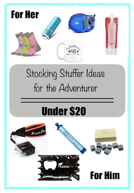 Stocking Stuffer Ideas under $20 : for the Adventurer