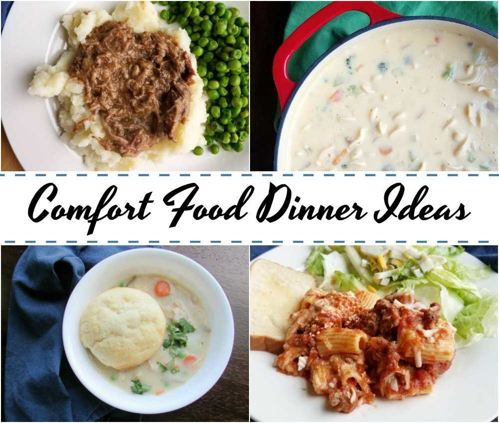 Cooking with carlee our favorite comfort food dinner ideas are you looking for some great new dinner ideas that warm your belly and make you smile these are some of our favorite comfort food dinner ideas forumfinder Images