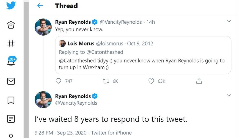 Ryan Reynolds Wrexam