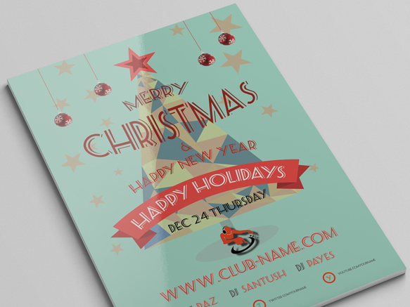 Download Christmas Flyer Templates PSD Free