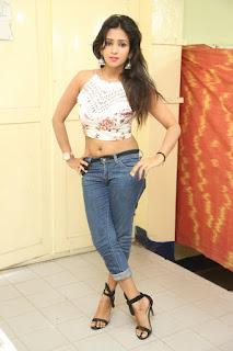 Deekshita Parvathi in a short crop top and Denim Jeans Spicy Pics Beautiful Actress Deekshita Parvathi January 2017 CelebxNext (242).JPG
