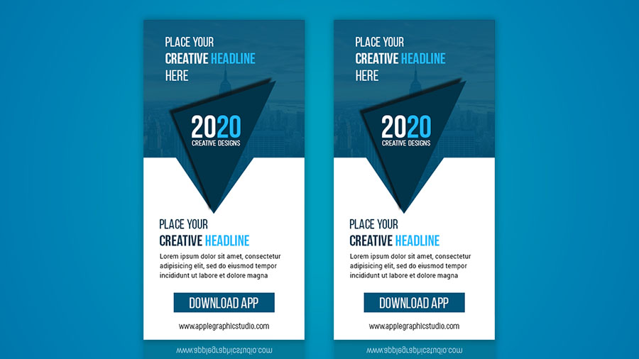 How to design a simple banner ads | photoshop tutorial for.
