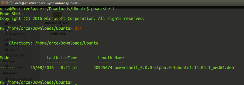 How to install PowerShell in Ubuntu 14 04 and 16 04 ~ The Geeky   Space