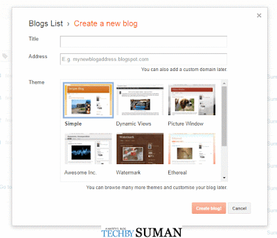 add blog tittle in blogger,how to add blog domain tittle,blogger