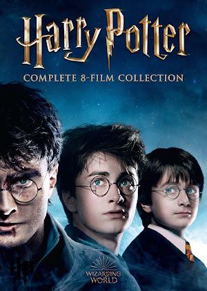 Coleção Completa Harry Potter - Poster