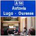 """Os deputados do PP por Ourense e Lugo expresan a súa indignación polo """"absoluto abandono e particular desprezo"""" do Goberno á autovía A-56"""