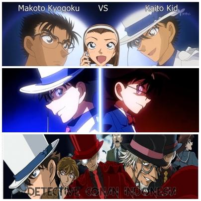 Detective Conan Movie 23 Detective Conan Makoto Kyogoku VS Kaito Kid (WebConan Indonesia)