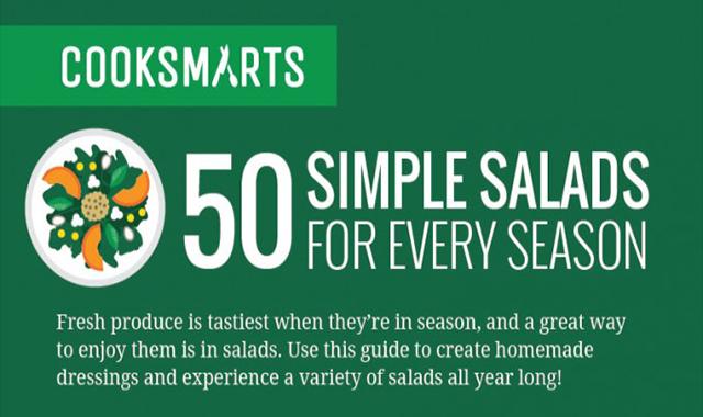50 Creative Salad Recipes You'll Love