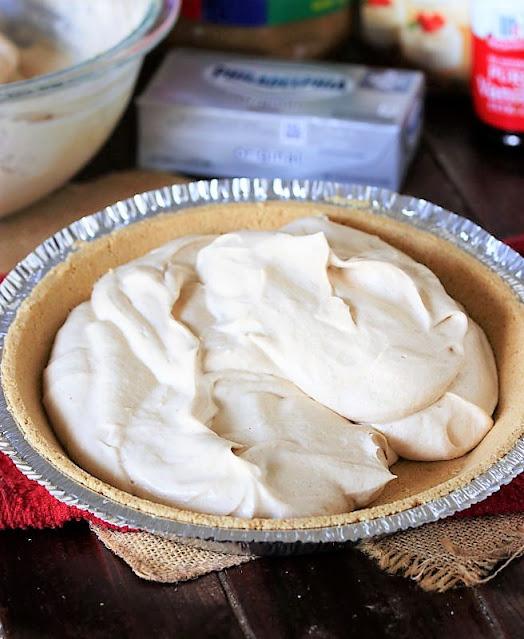 Making Fluffy No-Bake Peanut Butter Pie Image