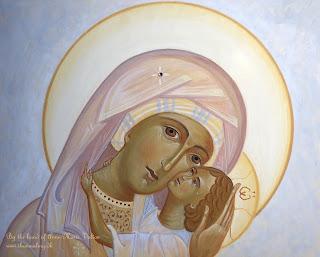 Maria Eleousa, ikon