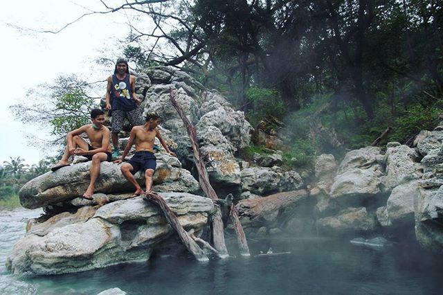 Sungai Dua Rasa di Sibolangit