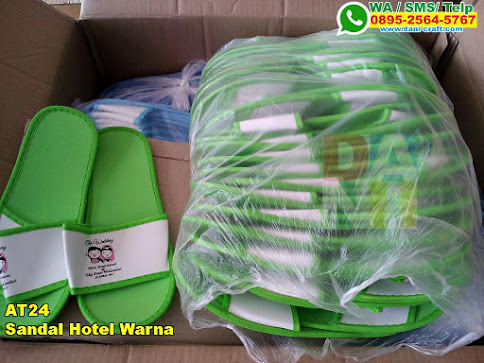 Grosir Sandal Hotel Warna