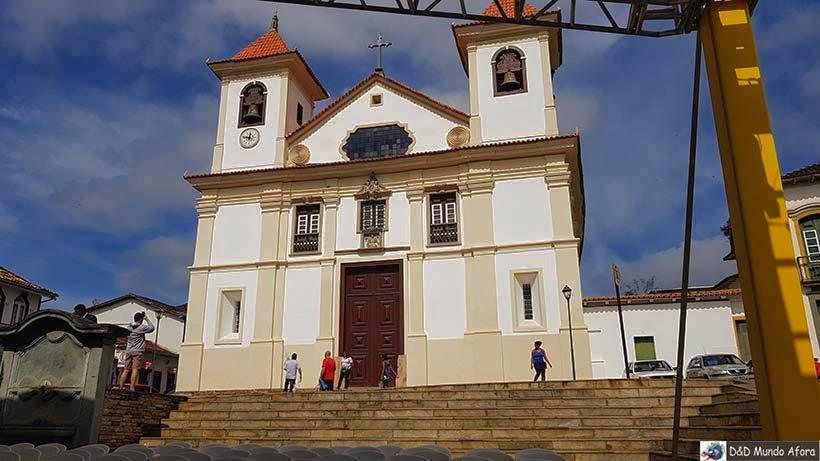 Catedral da Sé - o que fazer em Mariana, Minas Gerais