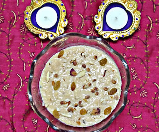 Caramelized Rice Kheer - Rice Payasam