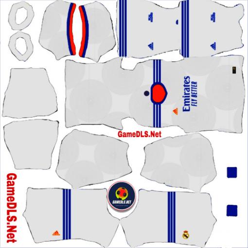 Kit Real Madrid Dream League Soccer