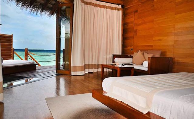 revelion exotic beach villa maldive 2017
