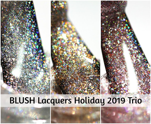 BLUSH Lacquers The Nutcracker Suite Trio swatches by Streets Ahead Style