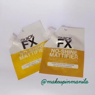 Quick FX No Shine Mattifier Primer Review