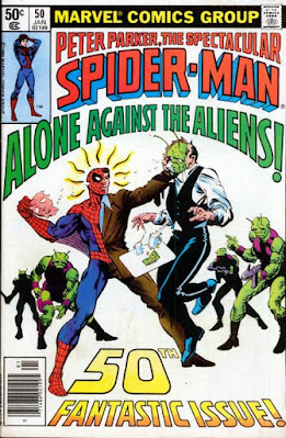 Spectacular Spider-Man #50, Aliens