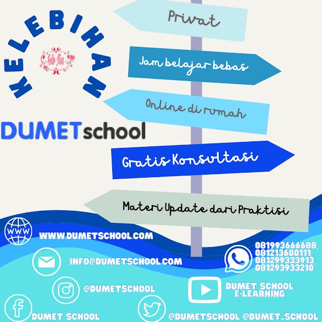 Keuntungan belajar di DUmet School