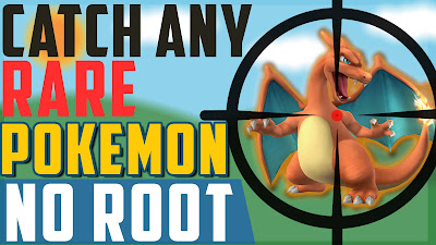 No Root) Catch any RARE Pokemon without PC   Pokemon GO New Hack/Cheat ...