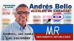 ANDRES ELOY BELLO CANDIDATO ALCALDE DE CARACAS