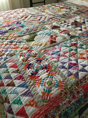 Sarah Craig's Long Time Gone quilt | DevotedQuilter.com