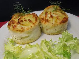 Pastelitos de patatas y queso