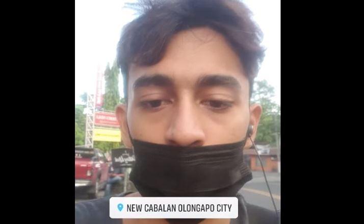 Man allegedly walks 60km from Zambales to Pampanga