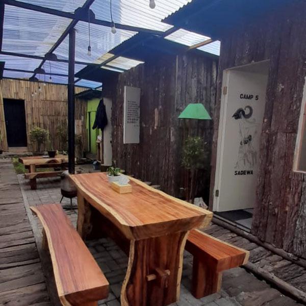 Penginapan Dieng Camp House