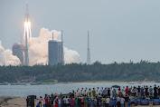 Puing-puing Roket China Jatuh di Samudra Hindia, Tuai Kritik dari NASA