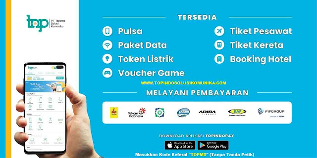 Download Aplikasi Android Topindopay Solusi Komunika dan With Label