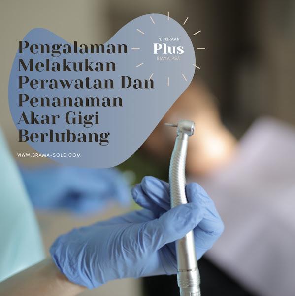 Pengalaman Melakukan Perawatan Dan Pengisian Saluran Akar Pada Gigi Berlubang