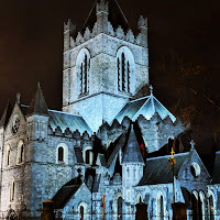 Images of Dublin at Night: Christchurch