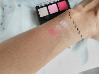 Swatch Mizzu Gradical Eye Shadow Ma Cherie 06
