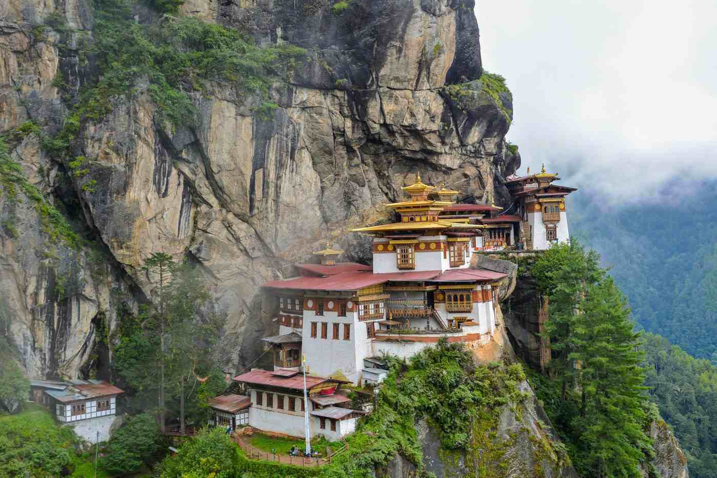 Paro, Bhutan - 8 most beautiful and best cities to visit in asia