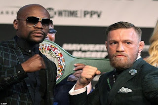 McGregor faces Mayweather in the most expensive fight in history.