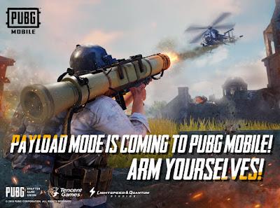 Hal yang ada di Mode Payload PUBG Mobile