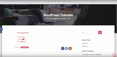 Category Specific RSS feed Subscription Wordpress Plugin