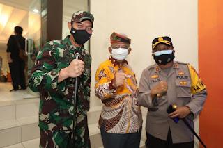 Menyambut Kedatangan Menteri Pertanian Republik Indonesia
