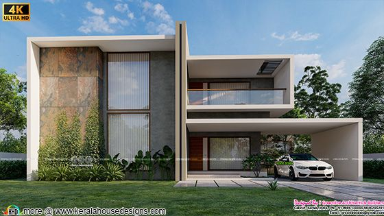 4 bedroom minimalist contemporary house