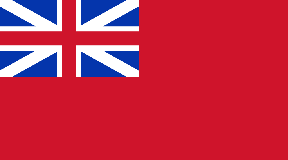 Climbing My Family Tree: Flag of the British colony of the Unified Province of Canada (which existed 1840-1867)