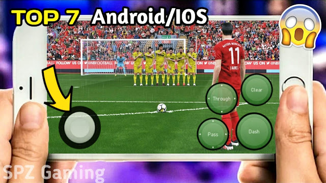 Download Top 7 Best Football Games On Mobile (Android/IOS) Best Graphics With Size