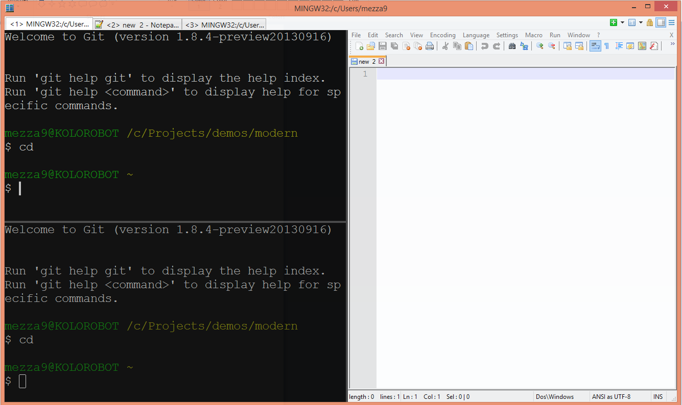 ConEmu - Windows console emulator with tabs ~ Codeleak pl