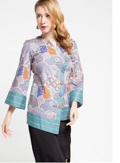 Model Baju Batik Terbaru 2017