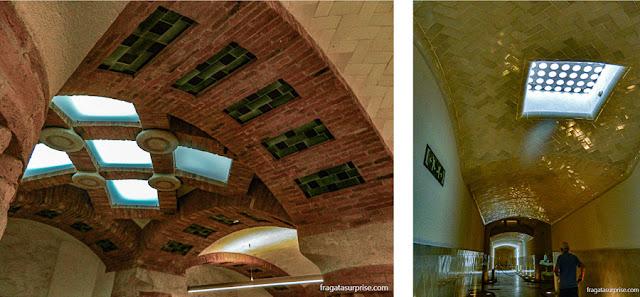 Sala Hipóstila e túnel do Hospital de La Santa Creu i Sant Pau, Barcelona