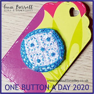 One Button a Day 2020 by Gina Barrett - 81: Safe Distance