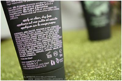 Crema Sublime Neve Cosmetics SkinCare INCI